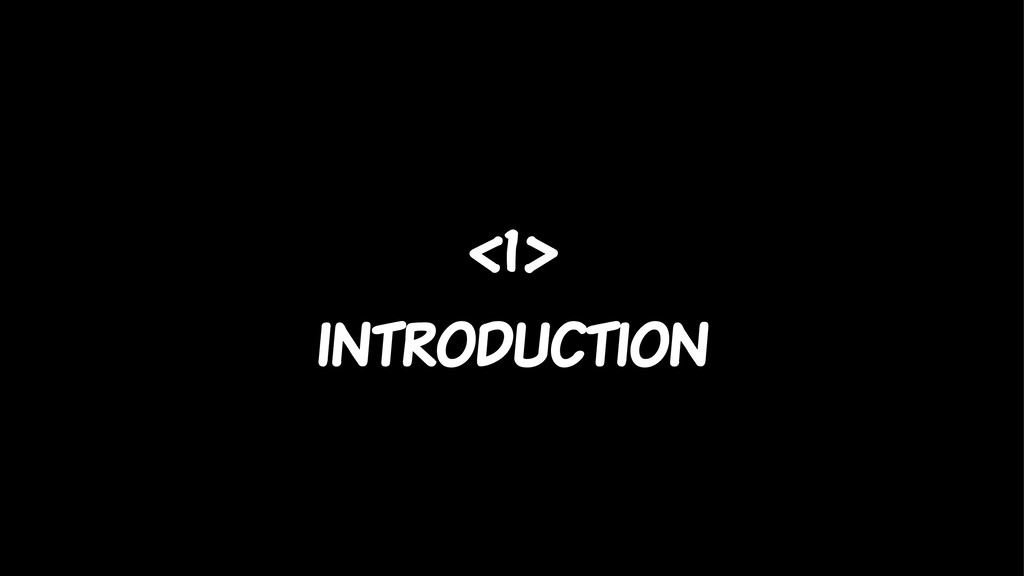 <1> introduction