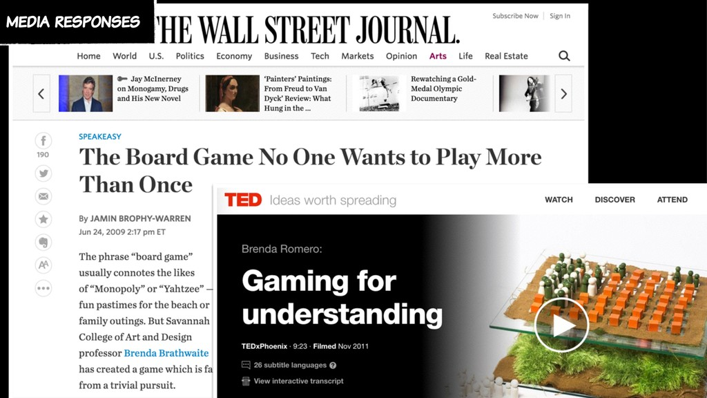 media responses
