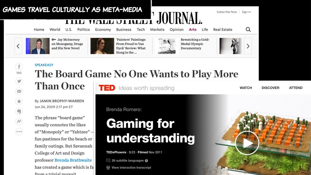 games travel culturally as meta-media