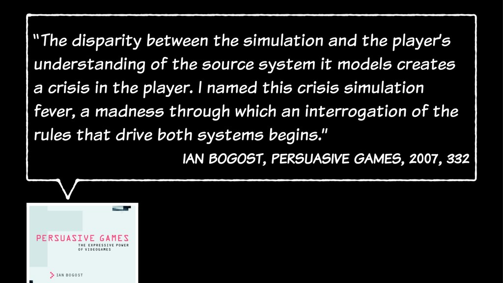 """""""The disparity between the simulation and the p..."""