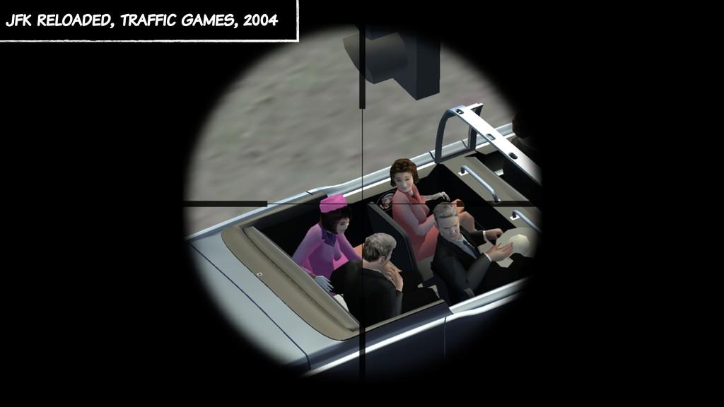 jfk reloaded, traffic games, 2004