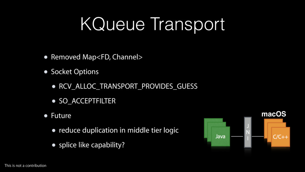 KQueue Transport Removed Map<FD, Channel> Socke...