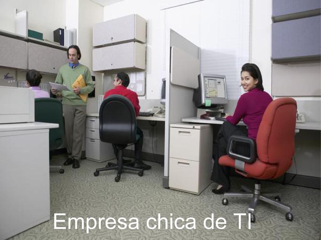 Empresa chica de TI