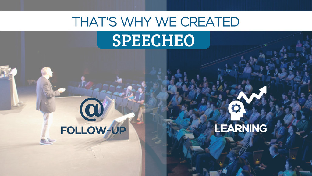 FOLLOW-UP @ LEARNING SPEECHEO THAT'S WHY WE CRE...