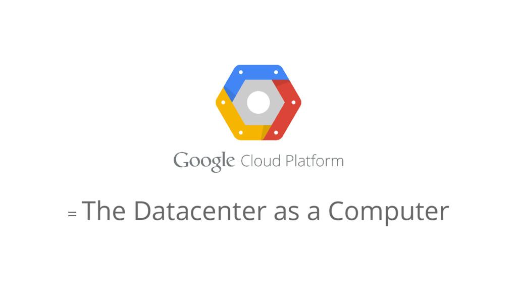 = The Datacenter as a Computer