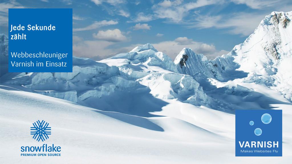 snowflake | OpenTuesday - Jede Sekunde zählt: W...
