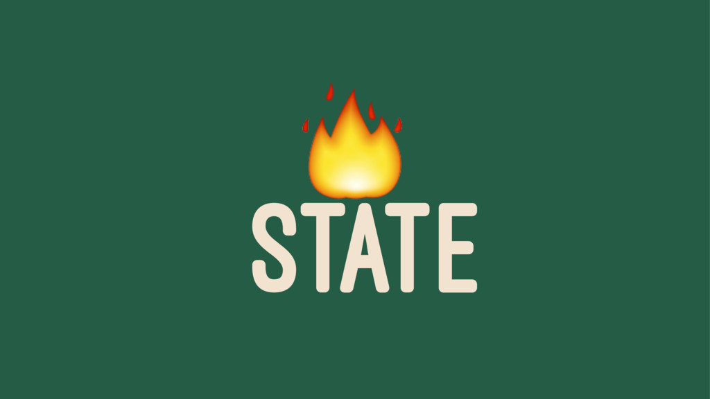 ! STATE