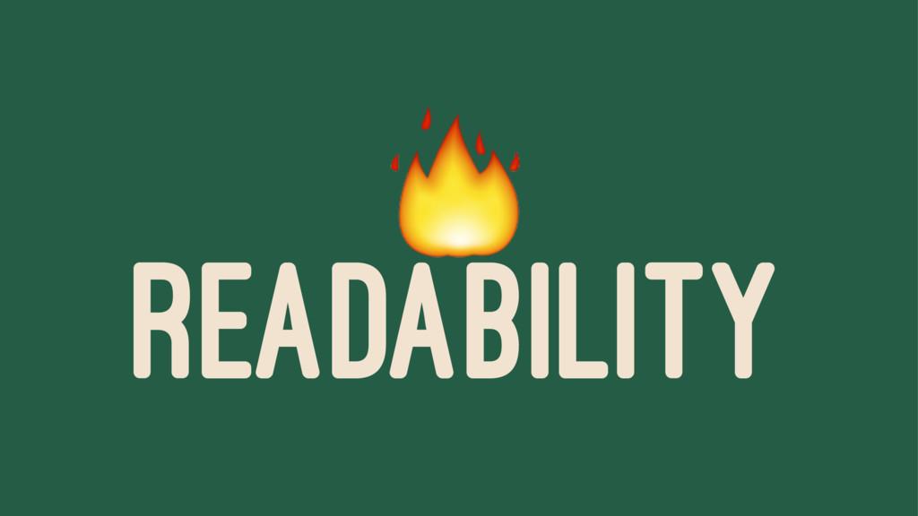 ! READABILITY