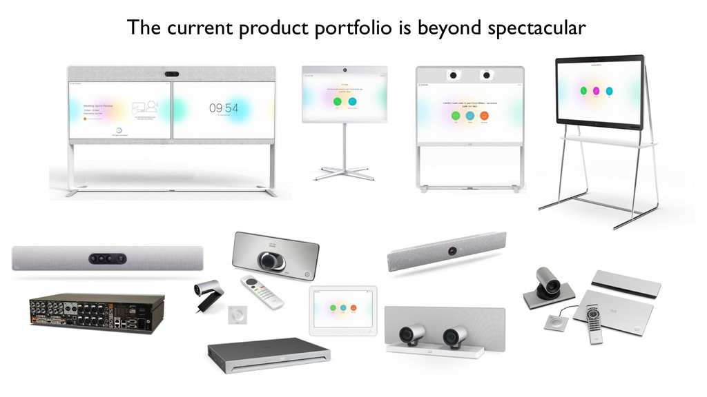 The current product portfolio is beyond spectac...