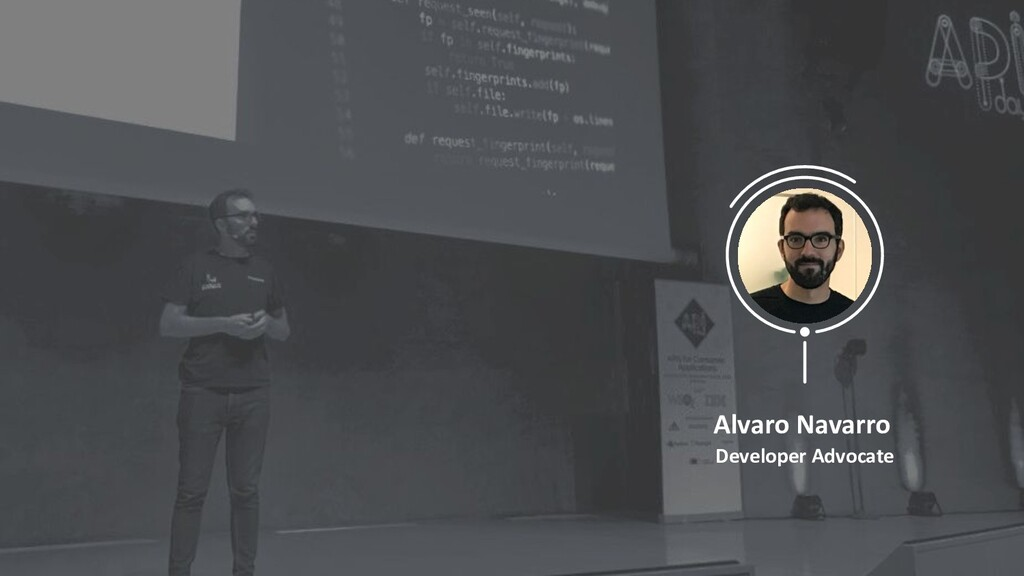 Alvaro Navarro Developer Advocate