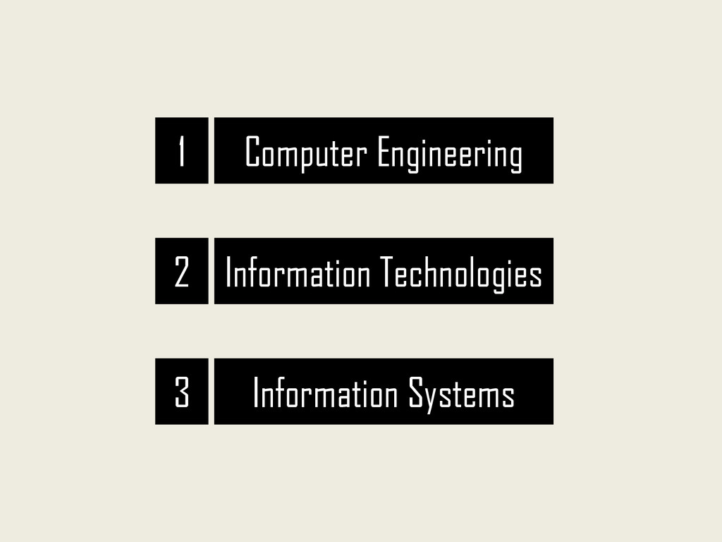 Computer Engineering Information Technologies I...