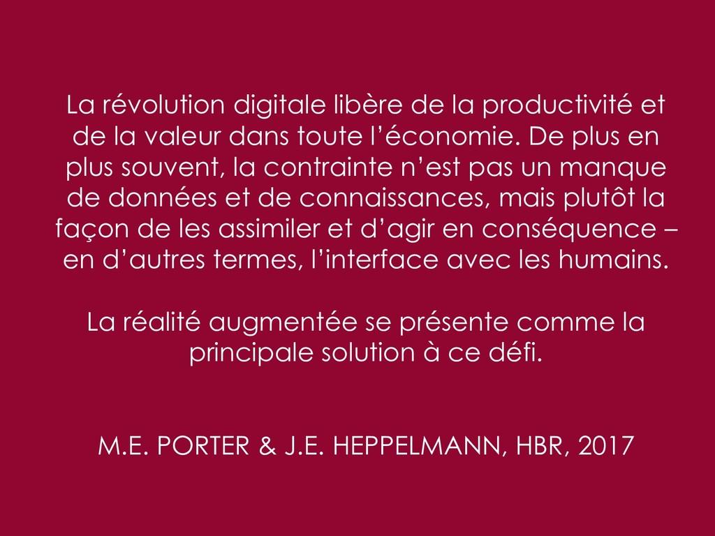 La révolution digitale libère de la productivit...