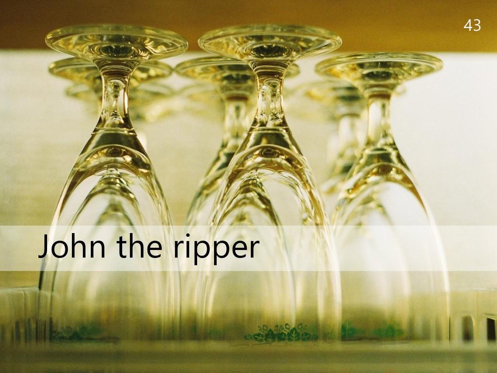43 John the ripper