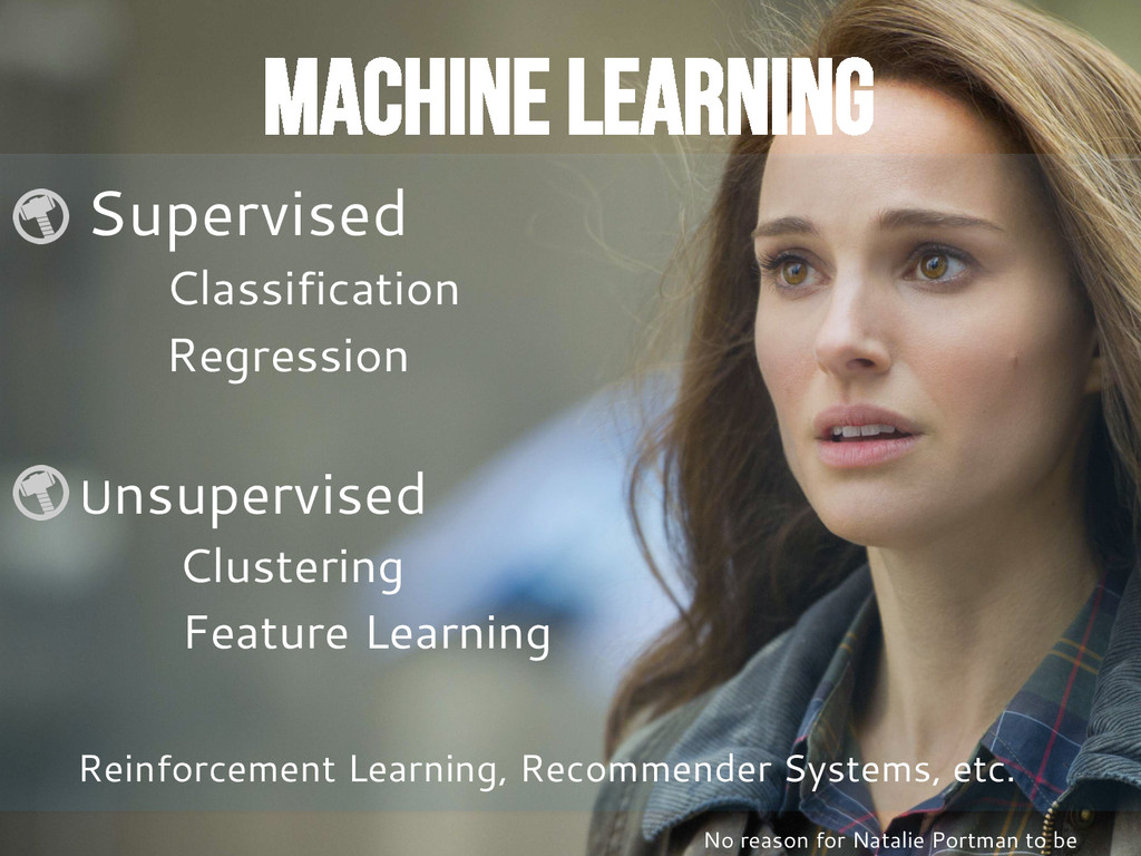 Machine Learning Supervised Classification Regr...