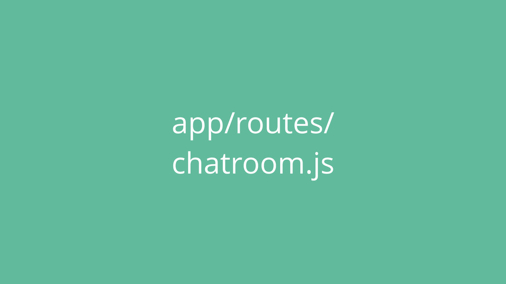 app/routes/ chatroom.js