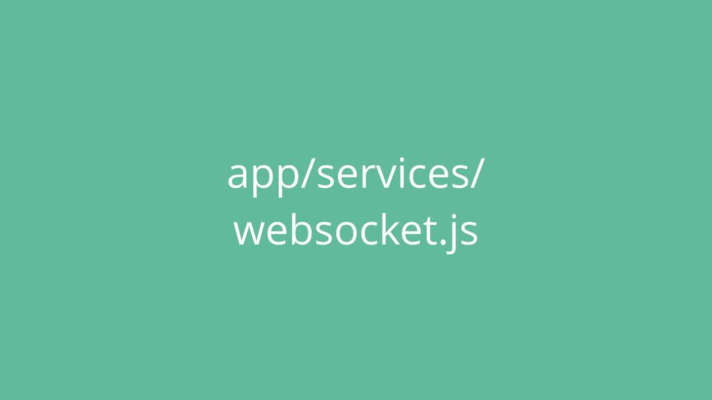 app/services/ websocket.js