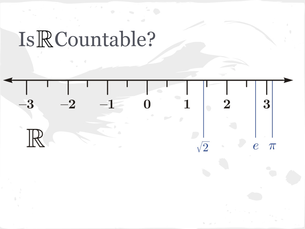 Is Countable?
