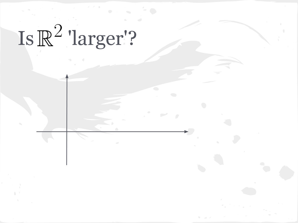 Is 'larger'?