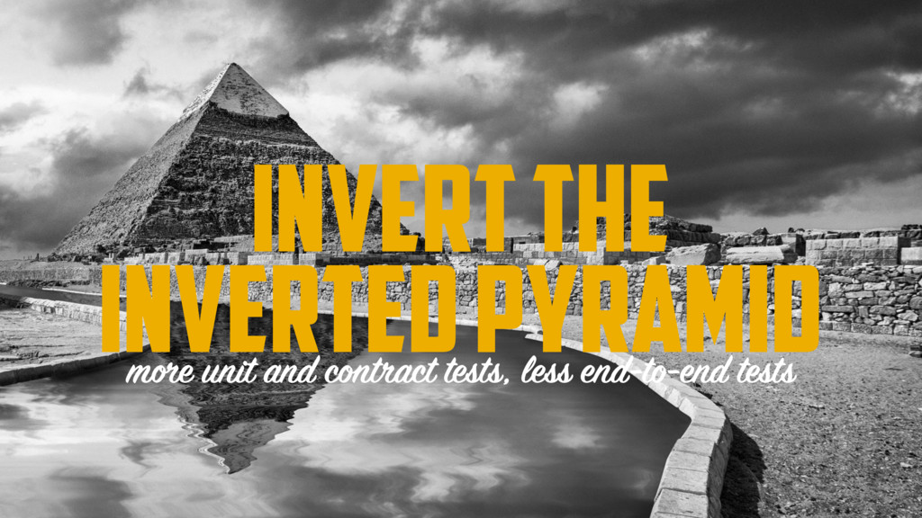 INVERT THE INVERTED PYRAMID more unit and contr...