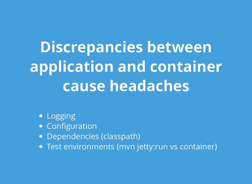 Discrepancies between Discrepancies between app...