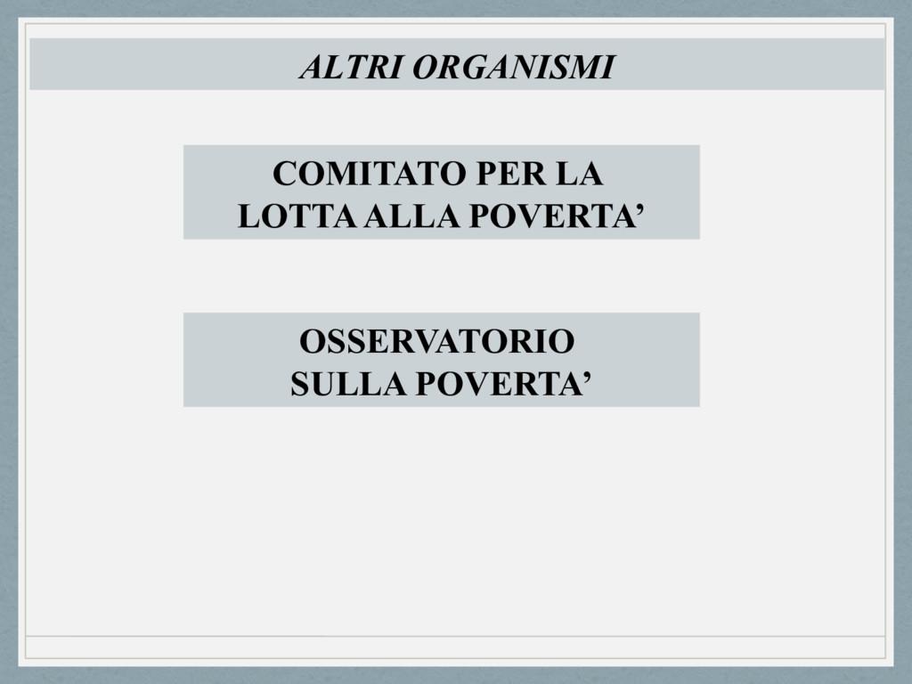 ALTRI ORGANISMI COMITATO PER LA LOTTA ALLA POVE...