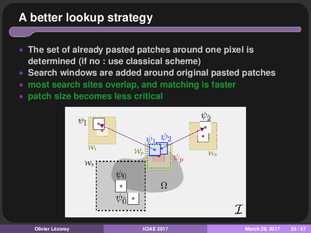 A better lookup strategy • The set of already p...