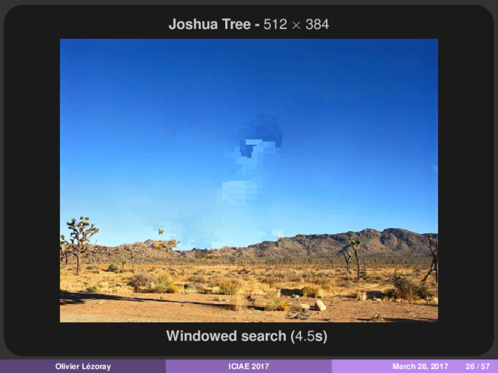 Joshua Tree - 512 × 384 Windowed search (4.5s) ...
