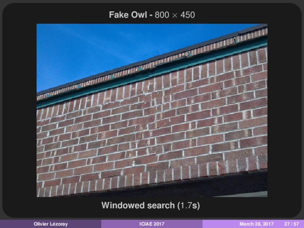 Fake Owl - 800 × 450 Windowed search (1.7s) Oli...