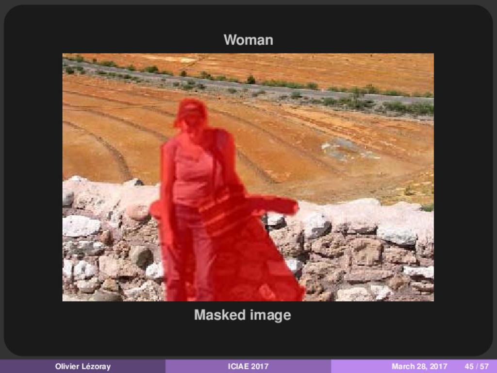 Woman Masked image Olivier Lézoray ICIAE 2017 M...
