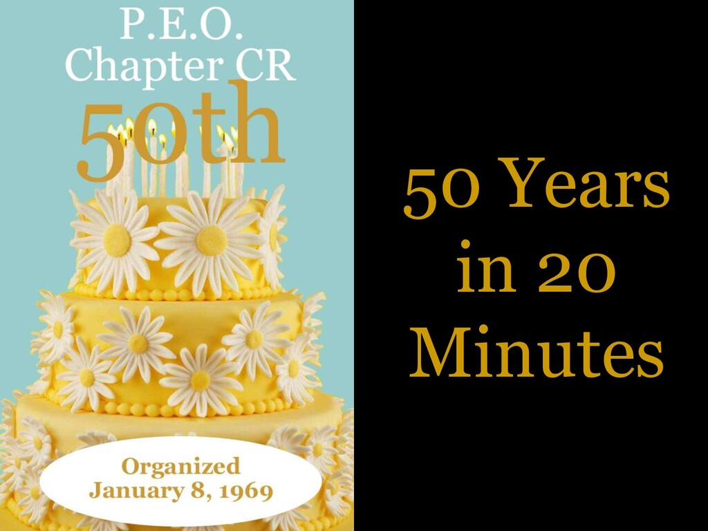 50 Years in 20 Minutes