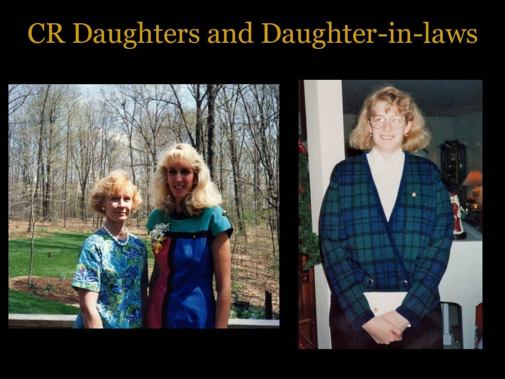 CR Daughters and Daughter-in-laws