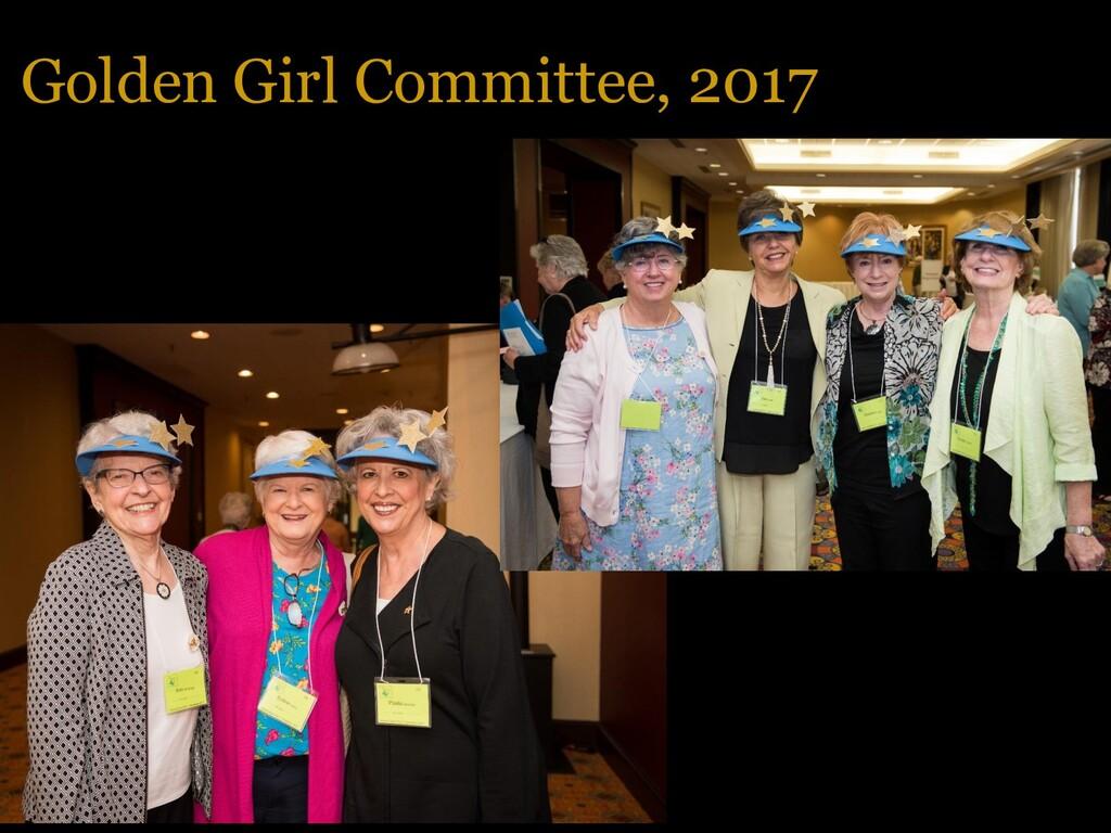 Golden Girl Committee, 2017