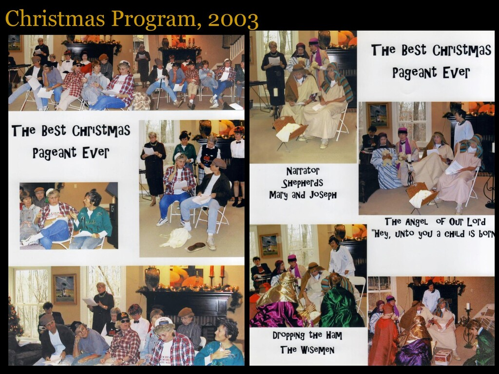 Christmas Program, 2003