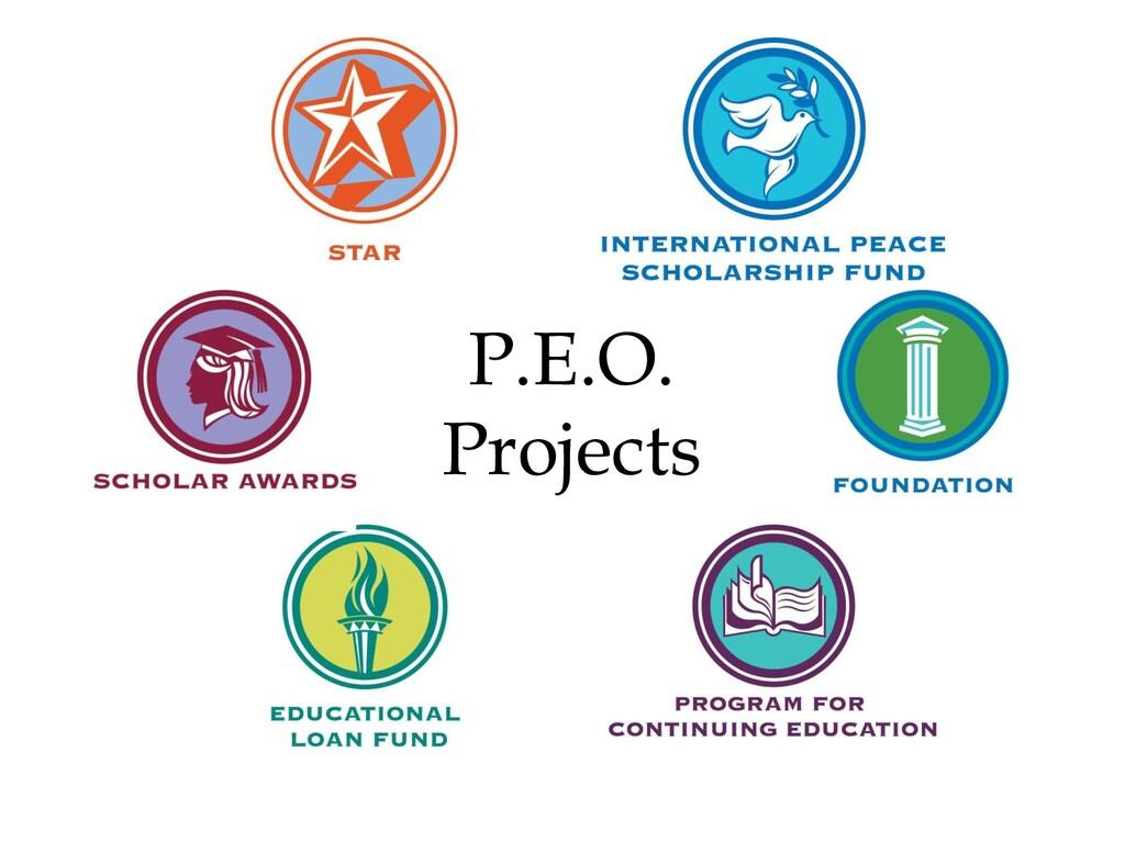 P.E.O. Projects