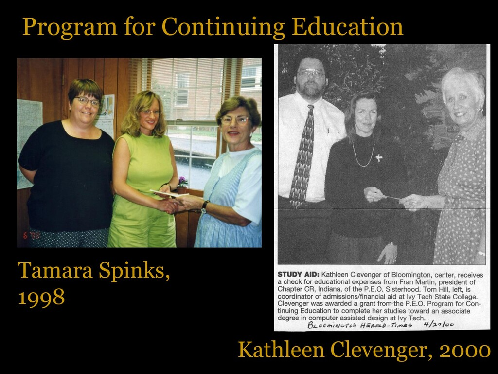 Program for Continuing Education Kathleen Cleve...