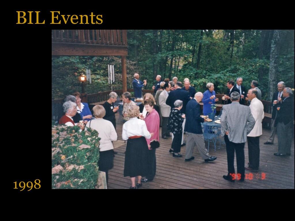 BIL Events 1998