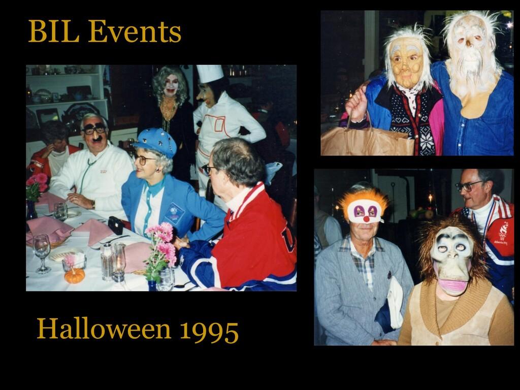 BIL Events Halloween 1995
