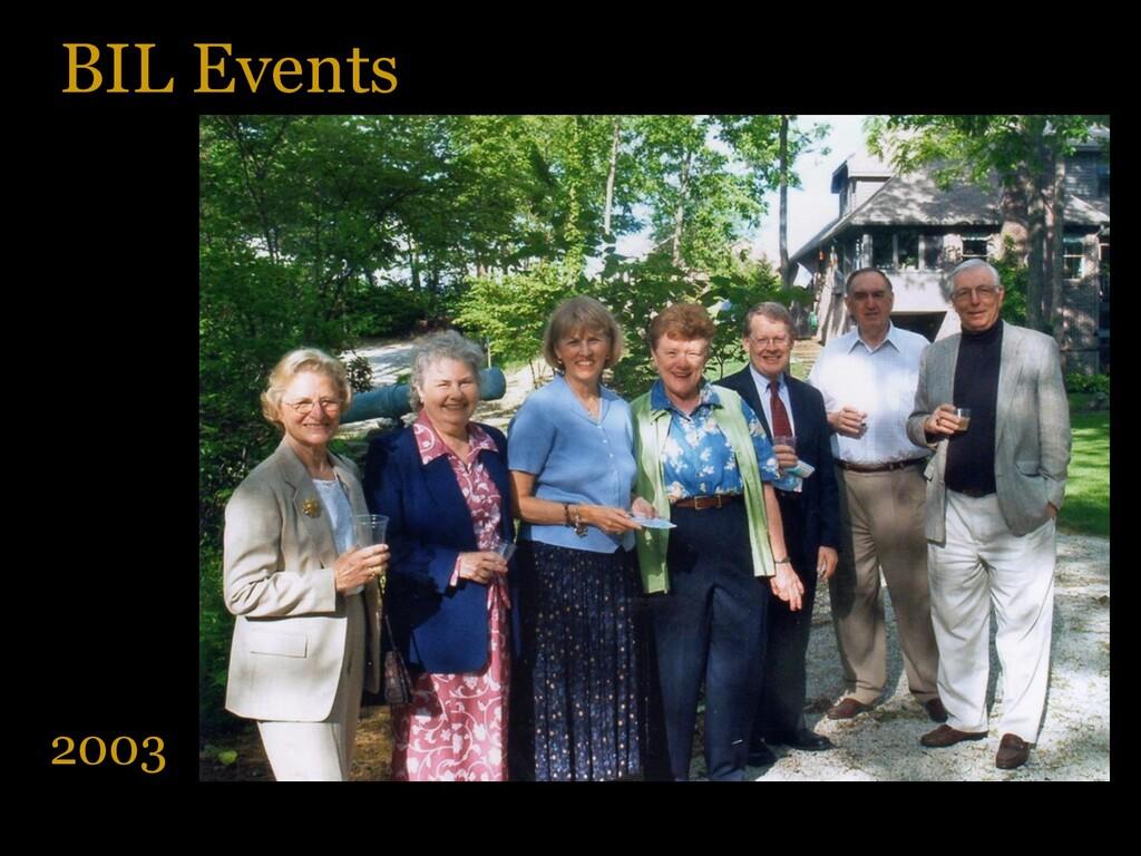 BIL Events 2003