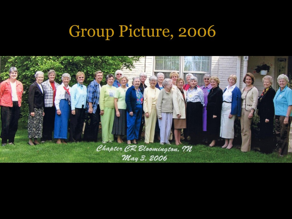 Group Picture, 2006