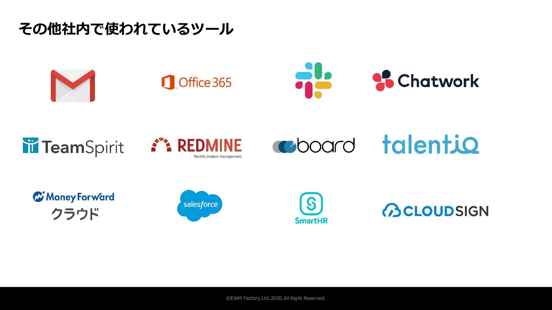 事業開発室 ©EWM Factory,Ltd.2020.All Right Reserved....