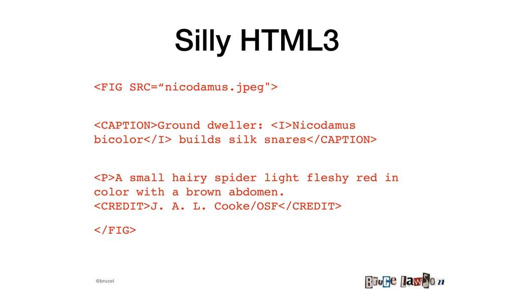 """@brucel Silly HTML3 <FIG SRC=""""nicodamus.jpeg""""> ..."""