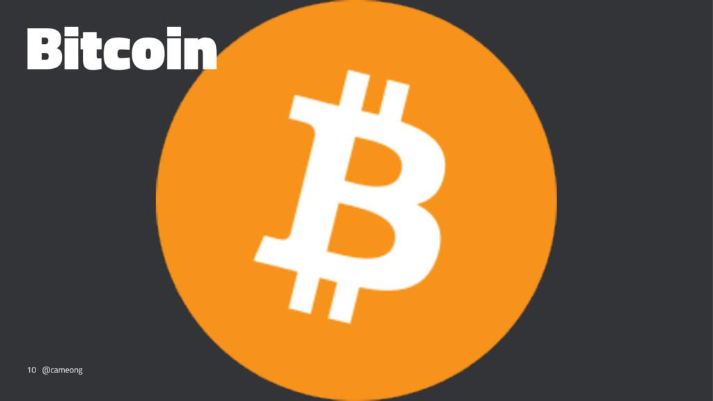 Bitcoin 10 @cameong