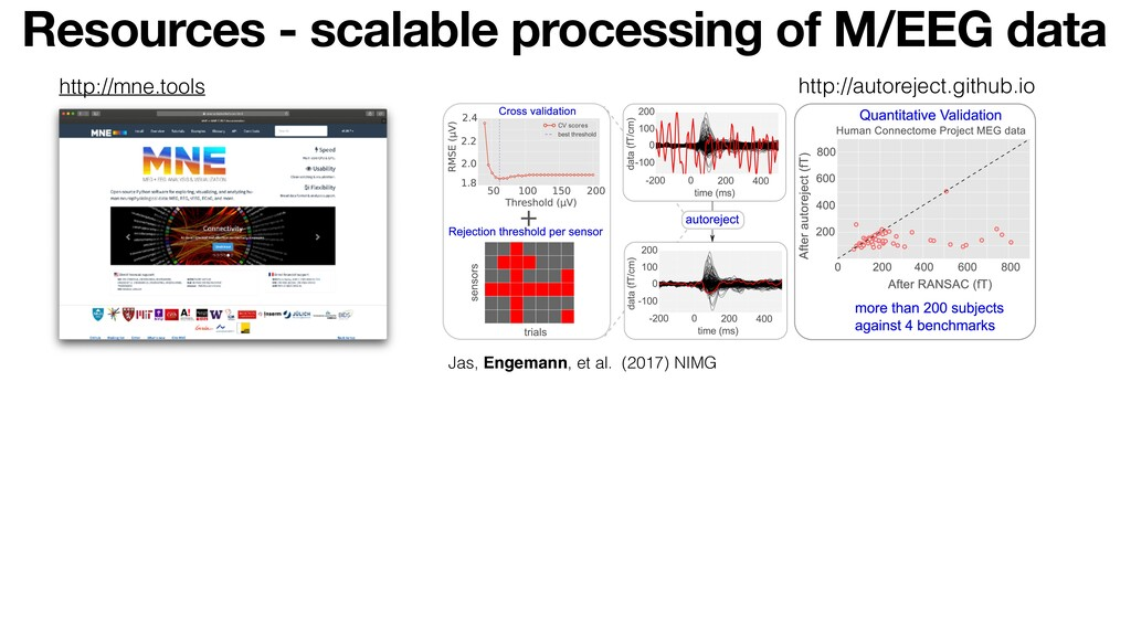 Resources - scalable processing of M/EEG data J...