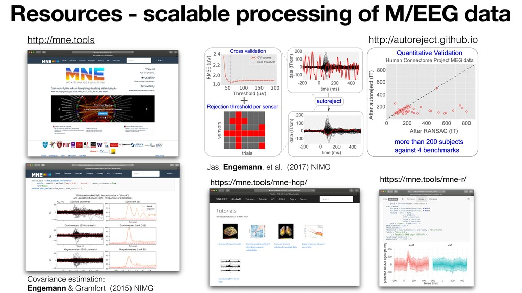 Resources - scalable processing of M/EEG data h...