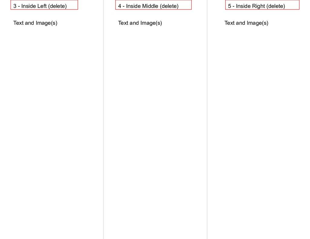 3 - Inside Left (delete) 4 - Inside Middle (del...