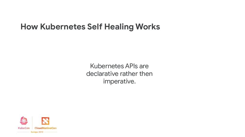 How Kubernetes Self Healing Works Kubernetes AP...