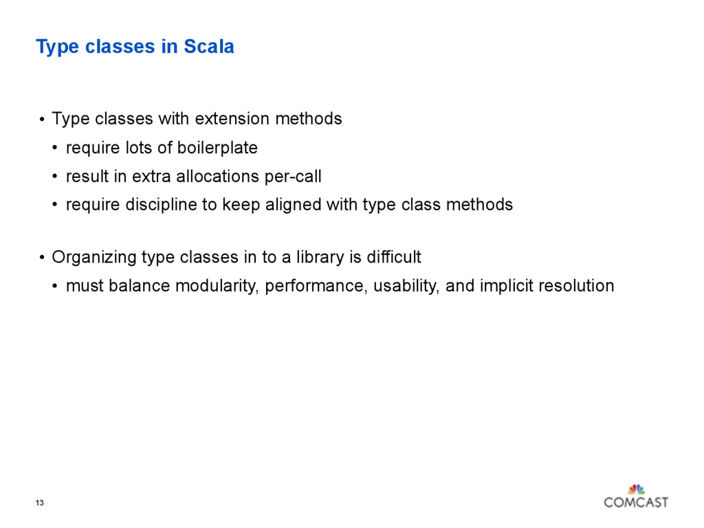 Type classes in Scala 13 • Type classes with ex...