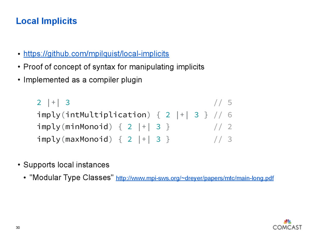 Local Implicits • https://github.com/mpilquist/...