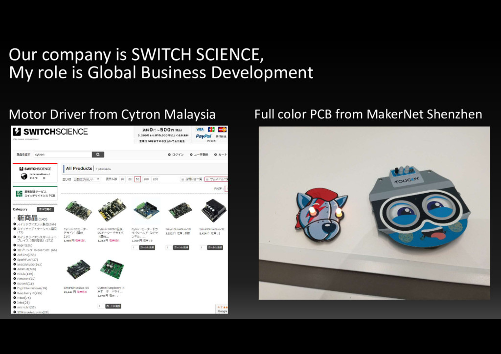 Motor Driver from Cytron Malaysia Full color PC...