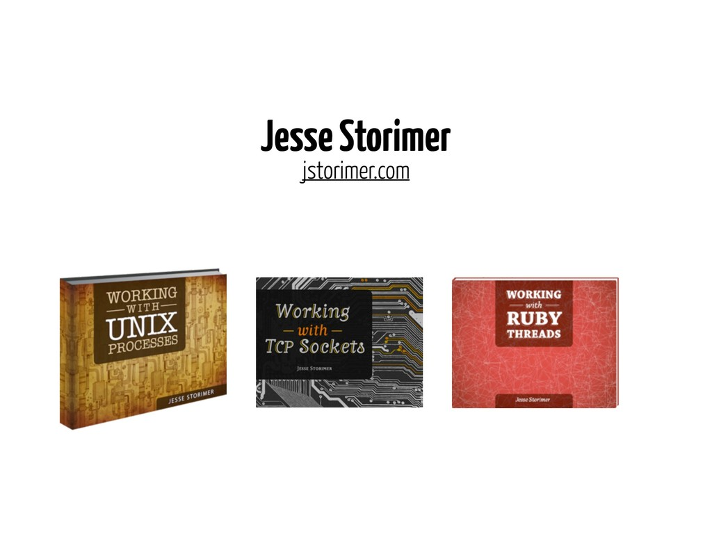 Jesse Storimer jstorimer.com